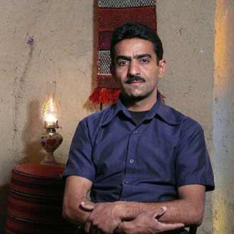 چهره عباس برزگر