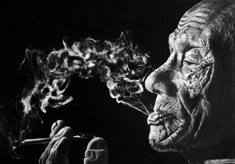 عاقبت سیگار انضباط شخصی
