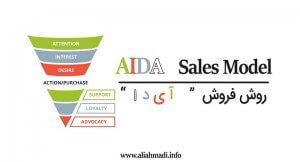 مدل فروش آیدا Aida الگوی فروش تبلیغات